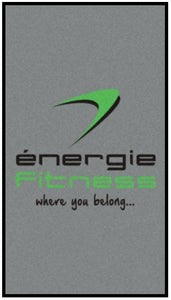énergie branded logo mat (Fully serviced 26 x pa)