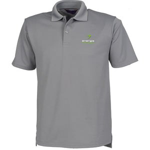 HEAD OFFICE ONLY Unisex Polo Shirt énergie branded in Grey