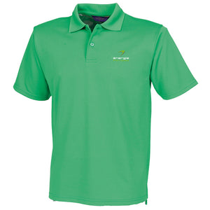 ENTERPRISE ONLY Unisex Polo Shirt énergie branded in Green