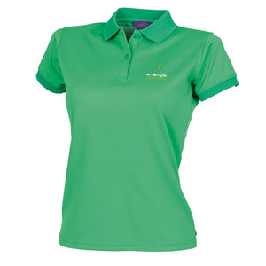 ENTERPRISE ONLY Ladies Polo Shirt énergie branded in Green