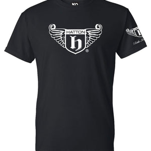HATTON WINGS - BLACK T-SHIRT