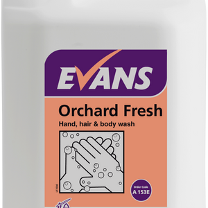 Orchard Fresh refreshing Hand and Bodywash Bulk Fill 5ltr (Pk of 2)