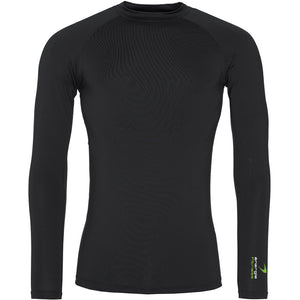 Unisex Base Layer énergie branded in Black