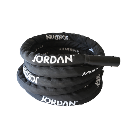 38mm diameter, 15m Black Training Rope