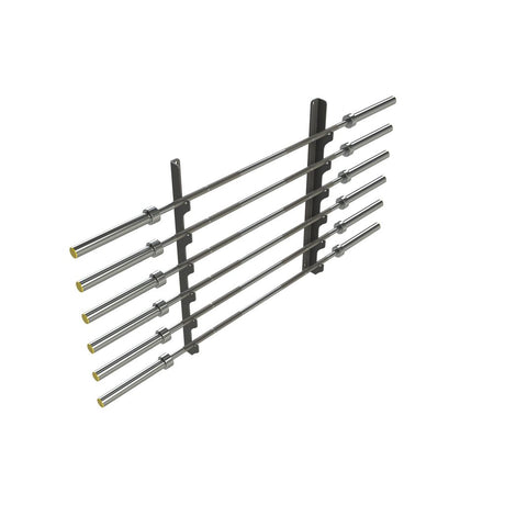 Wall Mounted Bar Rack - Black