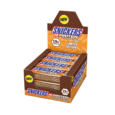 Snickers Hi Protein Peanut Butter-Limited Edition