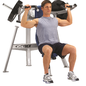 Plate Loaded Overhead Press 12'' Wt Tubes