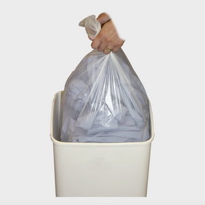 White Swing Bin Liners Heavy Duty (Pk of 500)
