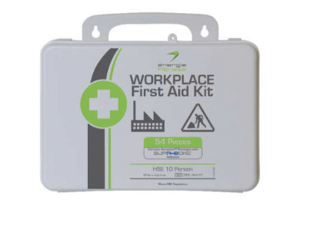 10 person First Aid Kit énergie branded (Pk 4)