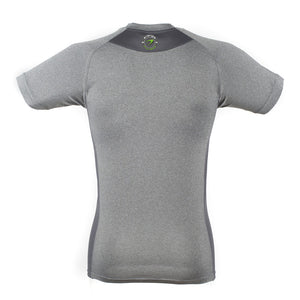 Delux Unisex T-shirt énergie branded in Grey