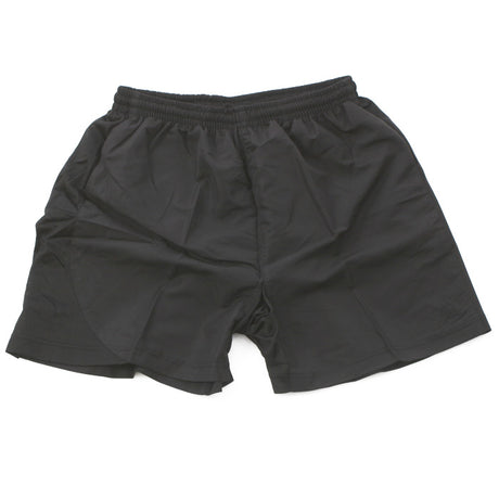 Unisex Bi-Stretch Sport Shorts in Black