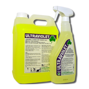 Clover Ultraviolet Perfumed Cleaner & Disinfectant x 750ml Pk 6