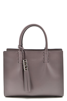 Turtledove Structured Tote Bag, Tod's