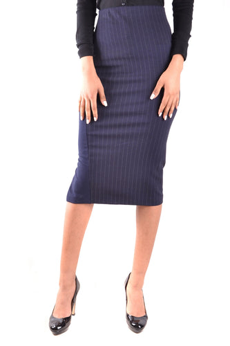 Pinstripe Pencil Skirt, Pinko