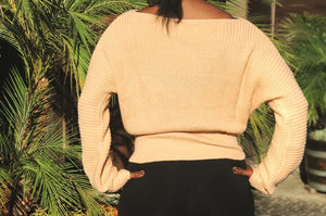 Tie Me Up Dolman Sweater