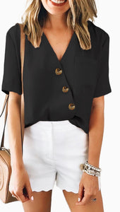 Brittany Button Front Blouse