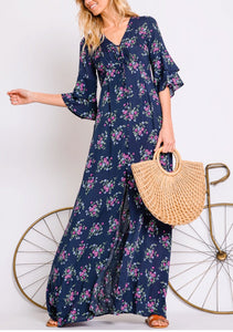 Desert Springs Maxi Floral Dress