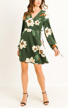 Load image into Gallery viewer, Flamingo Park Wrap Dress