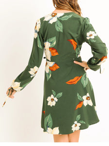 Flamingo Park Wrap Dress