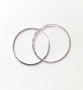 Jill Round Stackable Band Ring