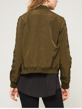 Load image into Gallery viewer, Kelly Bomber Jacket