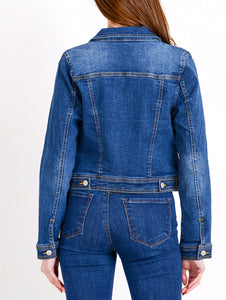 Laurel Canyon Fitted Denim Jacket