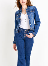 Load image into Gallery viewer, Laurel Canyon Fitted Denim Jacket