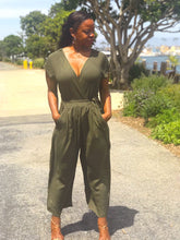 Load image into Gallery viewer, Lauren V-Neck Surplice Jumpsuit