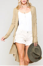 Load image into Gallery viewer, Layla Ribbed Duster Cardigan