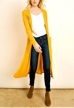 Load image into Gallery viewer, Maiden Lane Duster Cardigan
