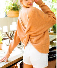 Load image into Gallery viewer, Malibu Beach Twist Knott Pullover