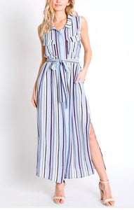 Pacific Heights Striped Dress