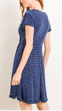 Load image into Gallery viewer, Picnic in Provence Faux Wrap Dress