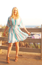 Load image into Gallery viewer, Santa Cruz Tiered Swing Dress