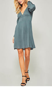 Margaery Lace Trim Dress