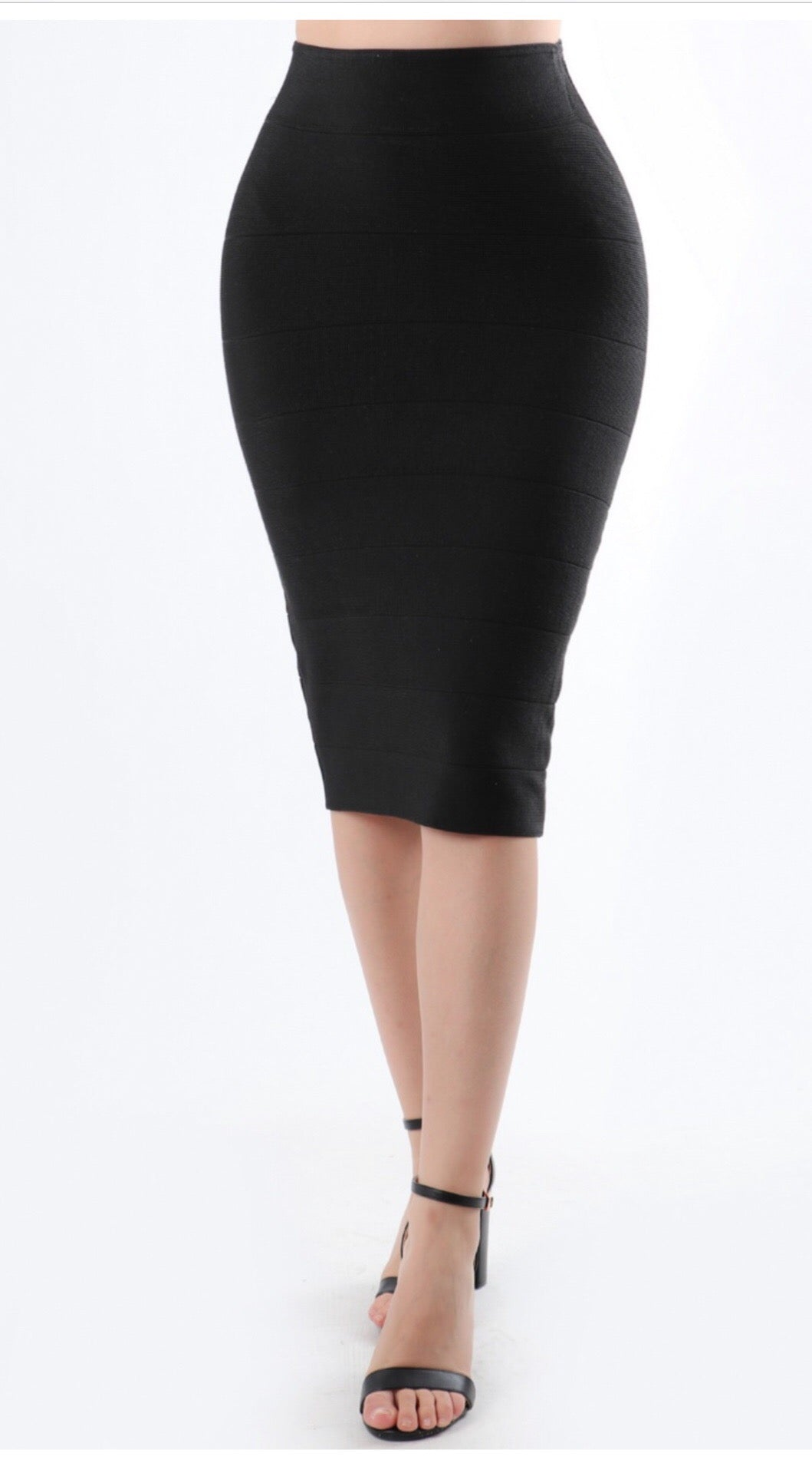 Sofia Bandage Pencil Skirt