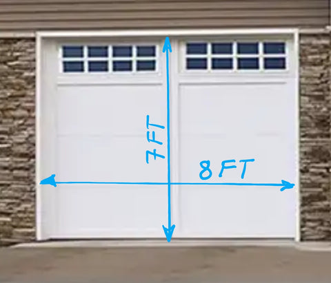 Garage Door 8ft x 7 ft