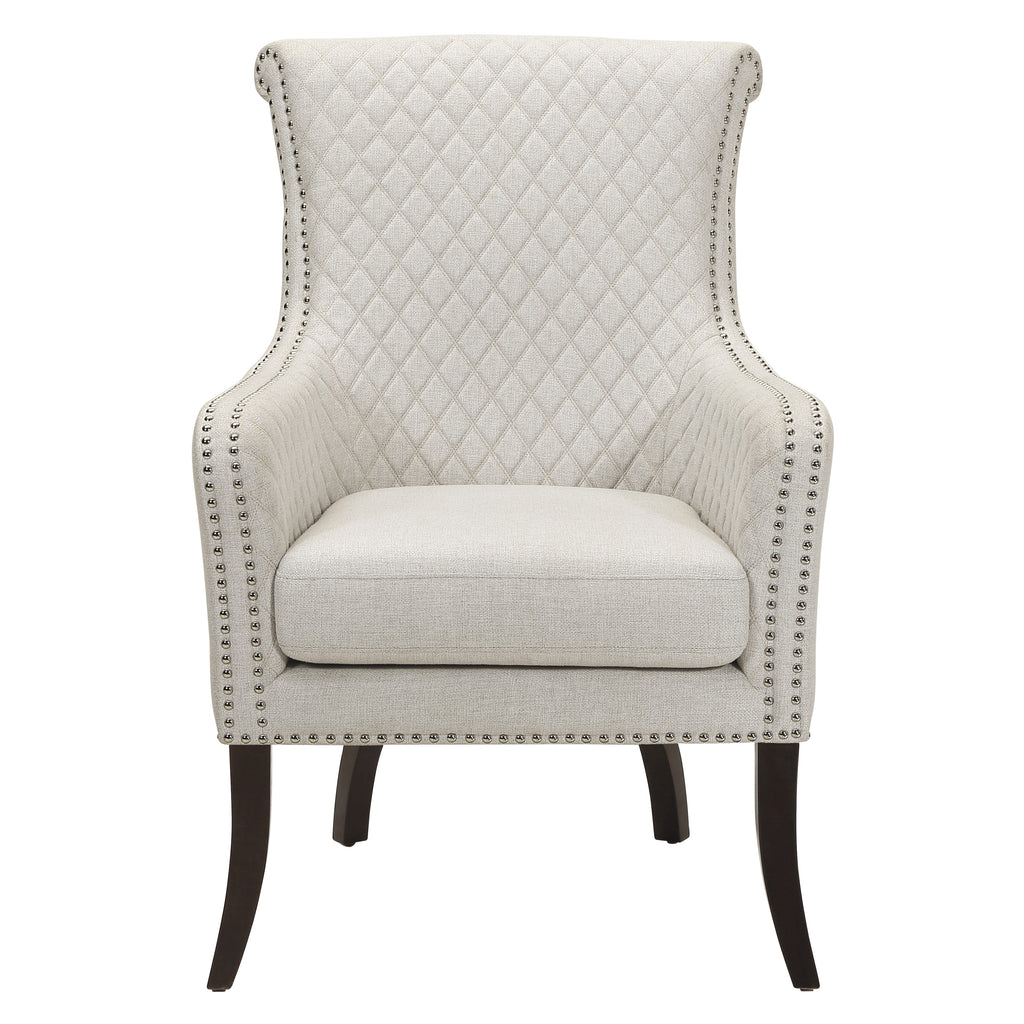 Lapis Quilted Accent Chair