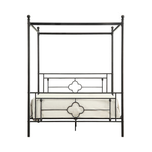 Grayton Canopy Platform Queen Bed
