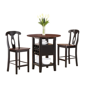 Oklahoma 3-Piece Pack Counter Height Set