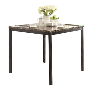 Paseo Counter Height Table with Faux Marble Top