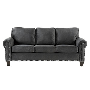 "Dark Gray 86"" Sofa"