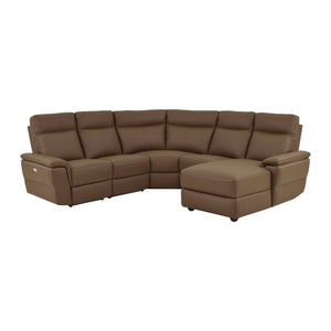 Fleming  5-Piece Sectional, Right Facing Chaise