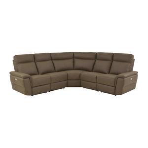 Fleming  5-Piece Sectional, Left/Right Side Recliners