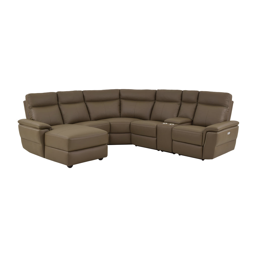 Fleming 6-Piece Sectional, Left Facing Chaise