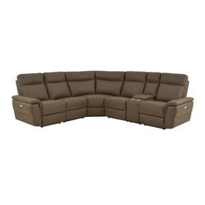 Fleming  6-Piece Sectional, Left/Right Side Recliners