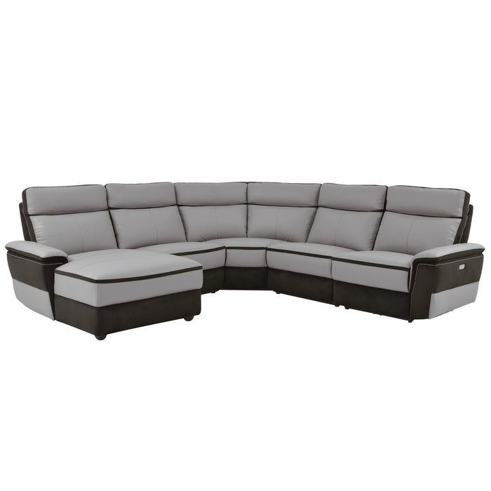 Fulton 5-Piece Sectional, Left Facing Chaise