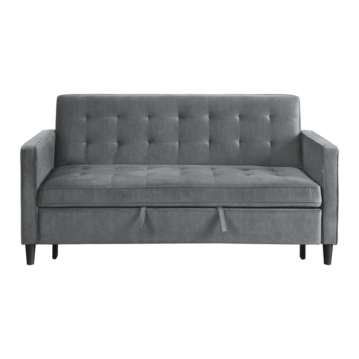 "71"" Convertible Studio Sofa with Pull-out Bed"