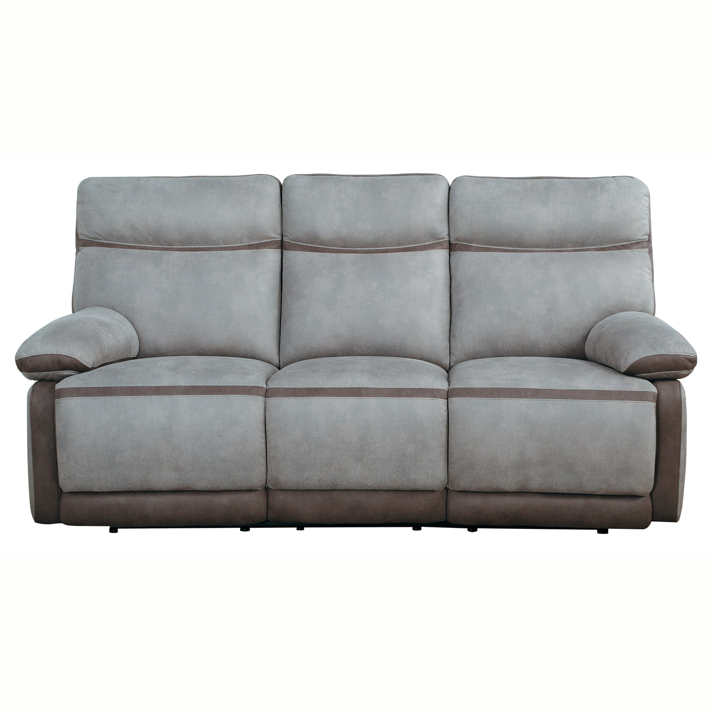 Taye Power Double Reclining Sofa With Power Headrest Lexiconhome