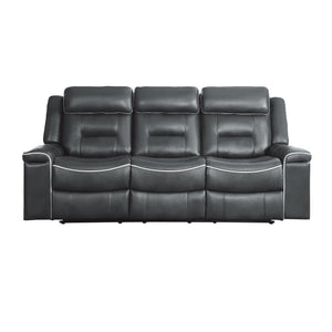 Erding Double Lay Flat Reclining Sofa Lexiconhomecom Lexicon Home